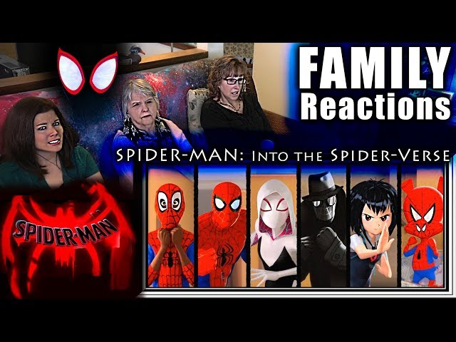 SPIDER-MAN Into the SPIDER-VERSE | FAMILY Reactions | Fair Use