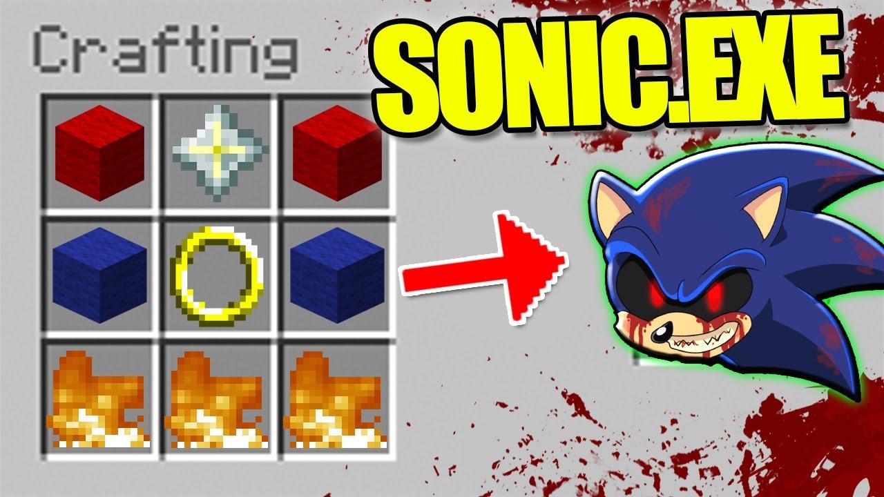 sonic.exe minecraft mod