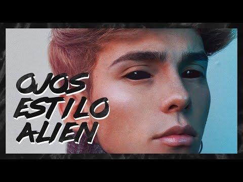 ➮ Ojos estilo Alien para tus fotos | No Person