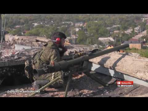 Ukraine Rebels In Heavy Bloody Combat Assault at the airport
