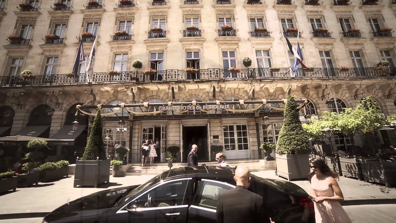 Intercontinental bordeaux le grand hotel youtube for Le grand hotel