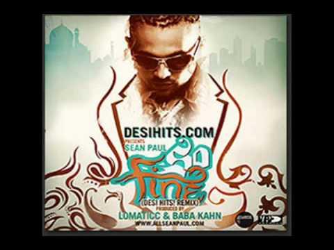 Sean Paul Feat Baba Khan & Lomaticc, Sunny Brown-So Fine .flv
