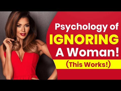 Psychology Of 💥Ignoring💥 A Woman