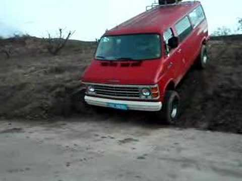 Dodge Conversion Van >> Dodge Van RAM B350 4x4 im glander II - YouTube