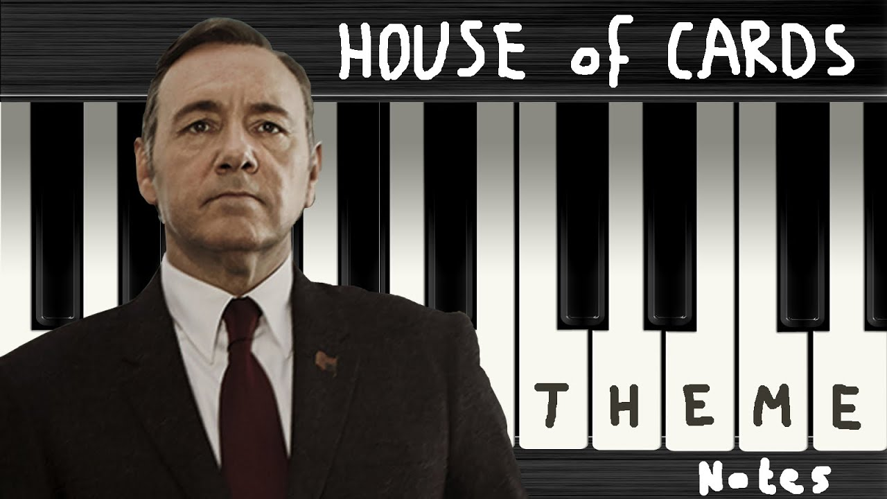 House Of Cards Theme [Full Version]   Piano Sheet Music   Chords