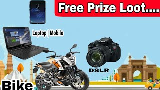 Play Contest win Amazing prizes | Free KTM , Samsung S8, DSLR camera, etc | Lucky stars app