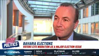 Raw Politics: Manfred Weber, German politician, talks to Euronews