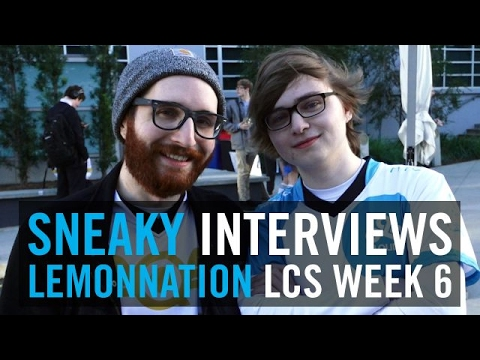 Sneaky interviews Lemon after their match as former Cloud9 teammates reunite on the mic