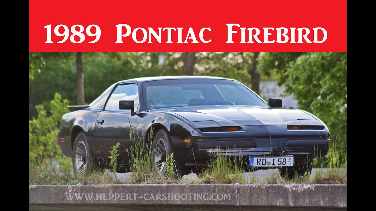 1989 pontiac firebird review test bericht doku