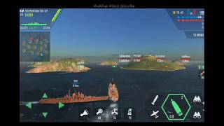 ZORLU DENİZ GEMİ SAVAŞI New World of Warships Uss Montana MMG BASS