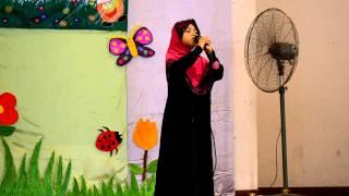 Majlis Konvokesyen Tadika Orange 2012-Syarahan Syifa