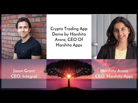 Crypto Currency Tracker App Demo by Harshita Arora