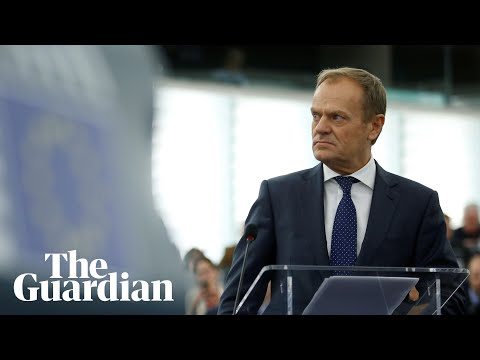 Donald Tusk: 'you cannot betray the six million people'