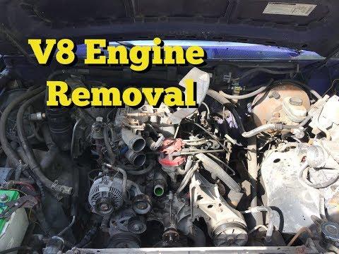 V8 Engine Removal F150 - Part 1