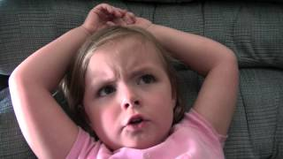 4 Year Old Story Telling