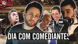 UM DIA COM COMEDIANTES (Fernando Rocha, Quim Roscas E Estacionâncio E João Seabra)