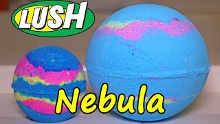 Lush - Nebula MONDO Bath Bomb - DEMO - Underwater View - Review Intergalactic HUGE!!