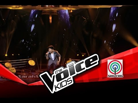 "The Voice Kids Philippines Sing Offs ""Listen"" by Darren"