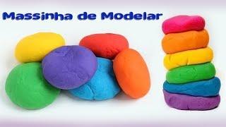FAÇA MASSINHA DE MODELAR EM CASA - DIY Fácil E Barato (Dicas De Massinha)