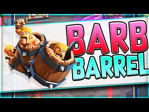 BARBARIAN BARREL CHALLENGE // Clash Royale