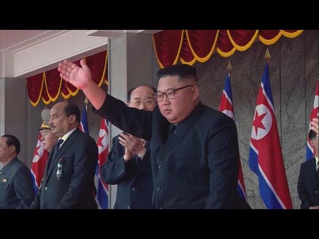 Trump celebra la ausencia de misiles nucleares en desfile militar de Corea del Norte