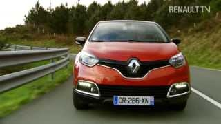 Watch the Renault Captur test drive with RENAULT TV