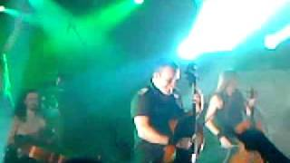 Apocalyptica - Hall of the mountain king (final) Live Le Mans 09/04/11