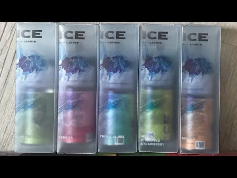 FOXY BY AUGVAPE& JUICE ICE BY DIFFERVAPE