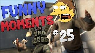 Cs:go - funny moments #25!