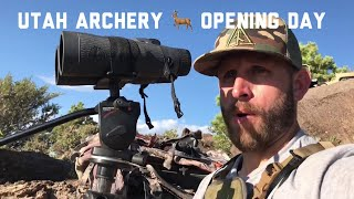 Opening Day Utah Archery Hunt Mule Deer | Public Land Hunting With Antler Trader
