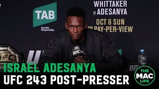 UFC 243 Post-Fight Press Conference: Israel Adesanya