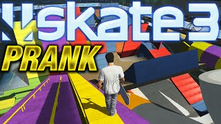skate 3 x7 albert limited edition character prank on ea
