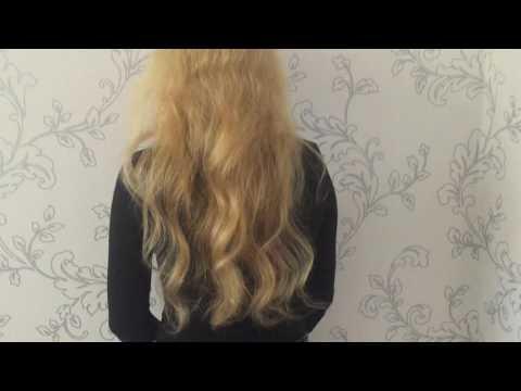 Наращивание волос холодным методом