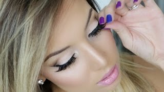 How to Apply False Lashes! Thumbnail