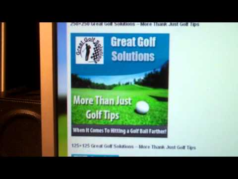 Great Golf Solutions – Free Golf Lessons