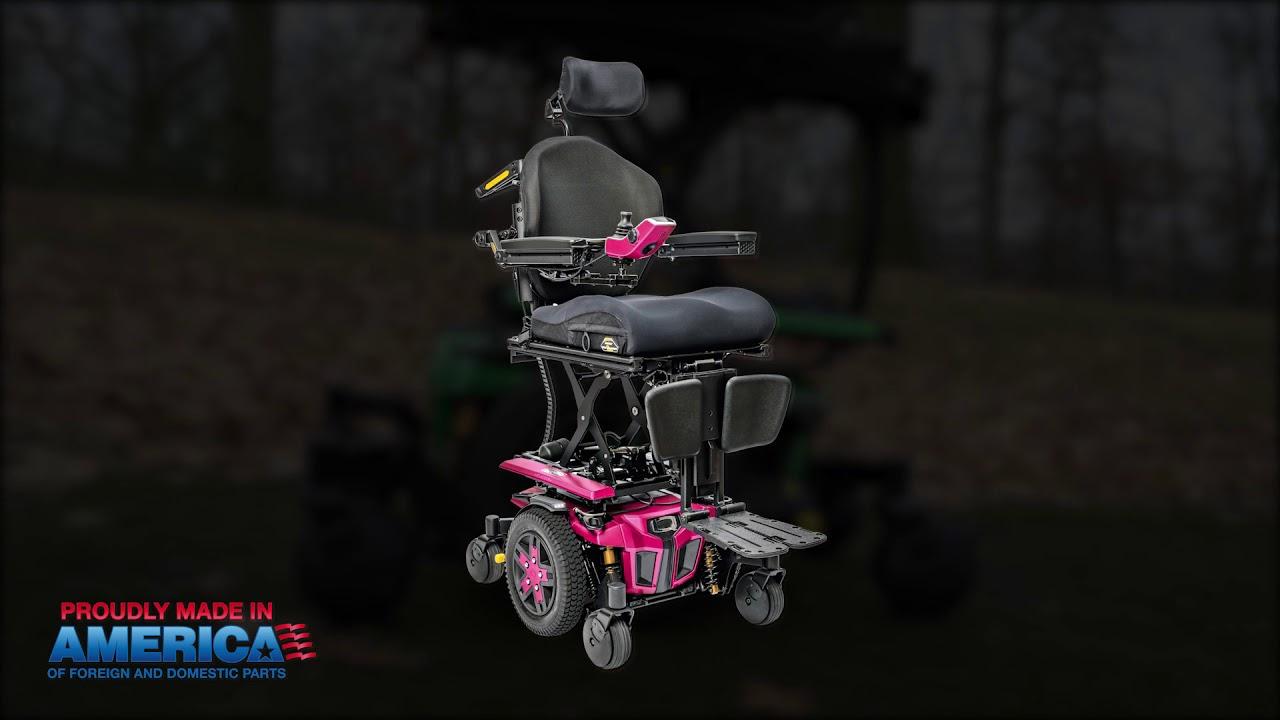 Quantum Edge 3 Power wheelchair   Dejay