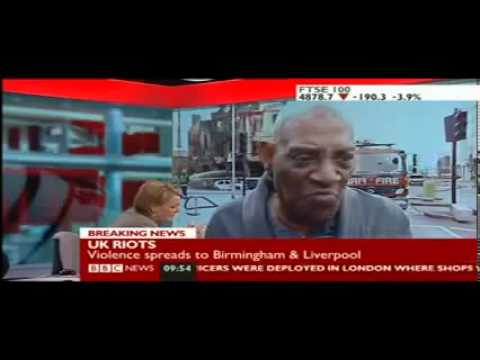 London Riots. (The BBC will never replay this. Send it out) HIGH QUALITY!