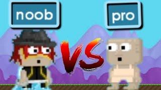 Growtopia|Noob vs pro