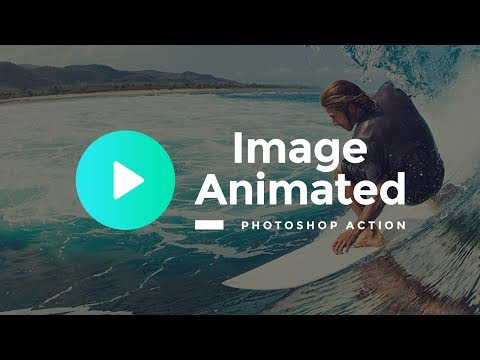 Image Animated Photoshop Action, Like Plotagraph Pro [Full-Length Tutorial]