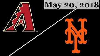 Arizona Diamondbacks vs New York Mets Highlights || May 20, 2018