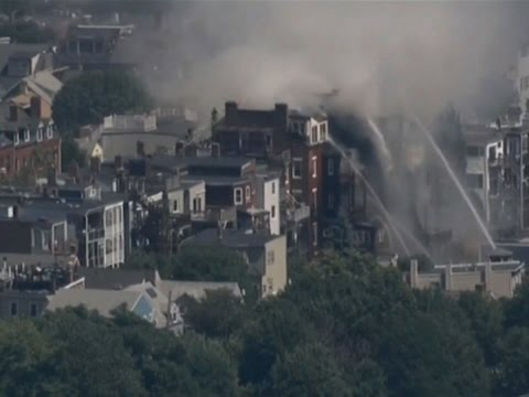 Raw: Large Fire in Boston