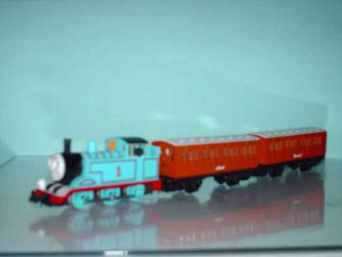 My Thomas N Scale Engines