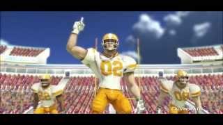 Tecmo Bowl Throwback (PS3) -- Dallas vs. L.A. -- 3D mode (preseason)