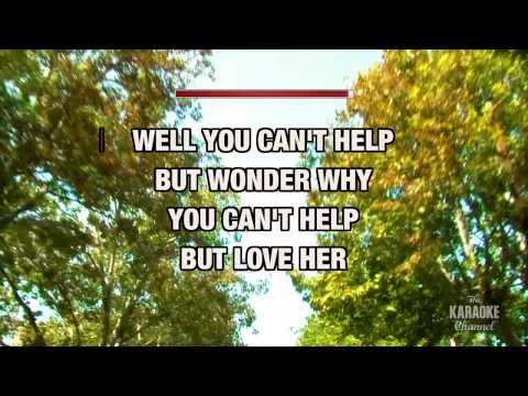 She'll Leave You With A Smile in the style of George Strait | Karaoke with Lyrics
