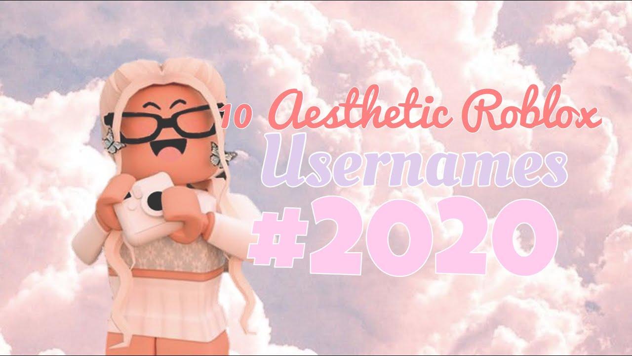10 Aesthetic Roblox Usernames Chxrryblossom Youtube