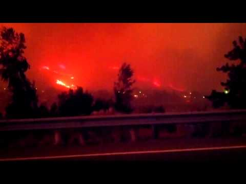 Carlton Complex Fire, Okanogan County.. The Largest Fire in Washington History