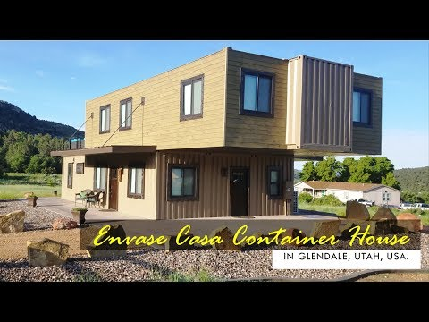 EnVase Casa: Shipping Container House in Glendale, Utah, USA