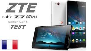 ZTE Nubia Z7 mini test (fr)
