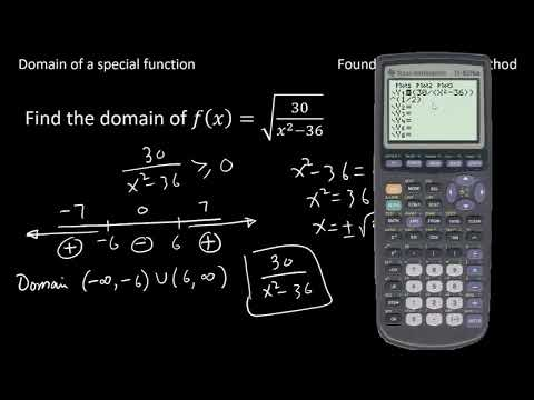 Domain of special functions (DomainS2)