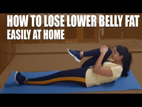 How to Lose Lower Belly Fat Easily at Home in telugu| Lose Belly Fat Fast in telugu|Get Flat Stomach